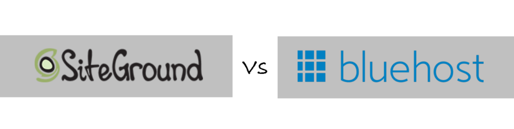siteground vs bluehost review