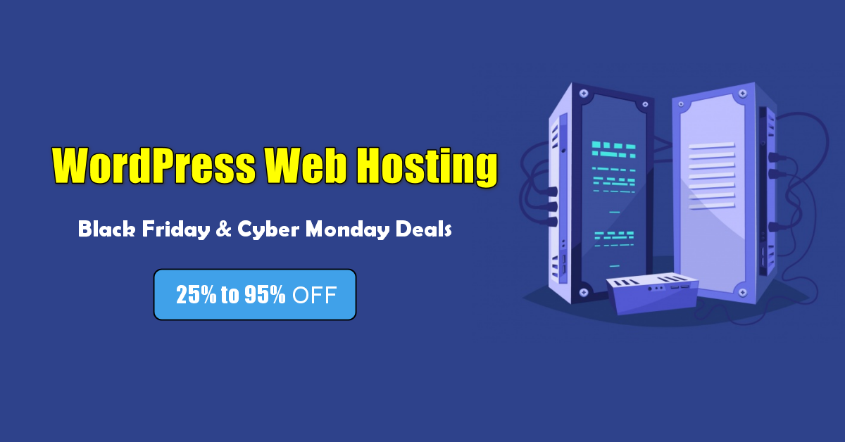 best WordPress Hosting black friday deals